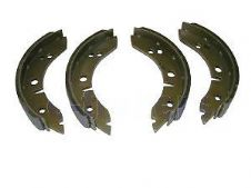 "LOCKHEED STYLE TRAILER CARAVAN BRAKE SHOES FOR 7"" drum 160mm x 31.5mm wide shoe"